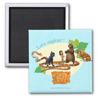 El grupo del libro de la selva tiró 4 imanes para frigoríficos