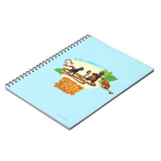 El grupo del libro de la selva tiró 4 cuaderno