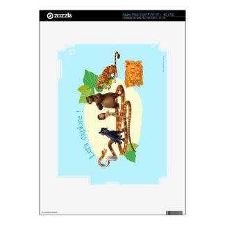 El grupo del libro de la selva tiró 4 pegatinas skins para iPad 3