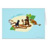 El grupo del libro de la selva tiró 4 tarjetas