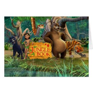 El grupo del libro de la selva tiró 5 tarjetas