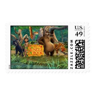 El grupo del libro de la selva tiró 5 timbre postal