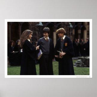 El grupo fuera de Hogwarts Impresiones