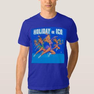 El grupo HolidayOnIce1982 salta la camiseta de la Playeras