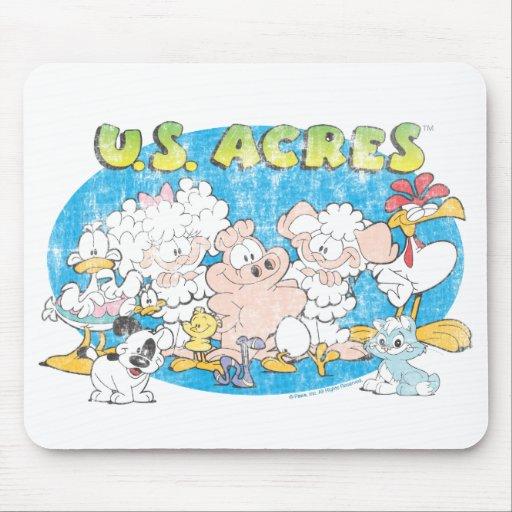 El grupo Mousepad de los acres de los E.E.U.U.