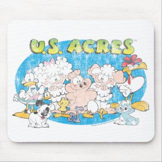 El grupo Mousepad de los acres de los E.E.U.U. Alfombrillas De Ratones
