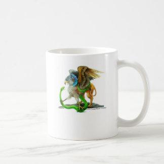 El Gryphon y la serpiente Taza De Café