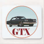 El GTX negro Alfombrilla De Raton