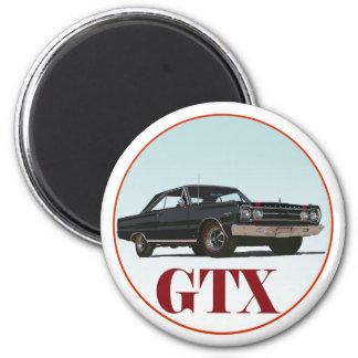 El GTX negro Imán Redondo 5 Cm