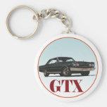 El GTX negro Llaveros Personalizados