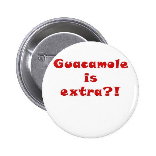 El Guacamole es adicional