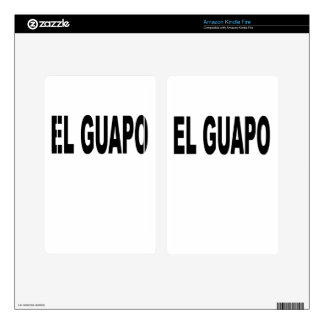 El Guapo T-shirts.png Decal For Kindle Fire