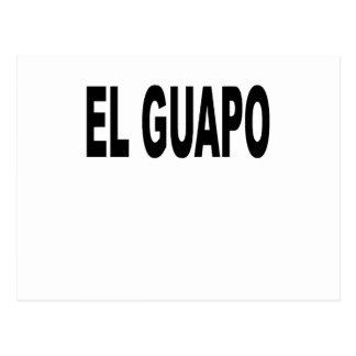 EL Guapo T-shirts.png Postales