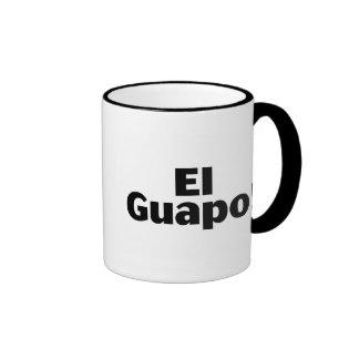 EL Guapo Taza De Dos Colores