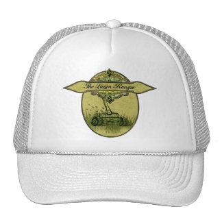 El guardabosques del césped gorra