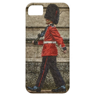 El guardia de la reina del Buckingham Palace iPhone 5 Carcasas