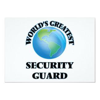 El guardia de la seguridad más grande del mundo comunicados
