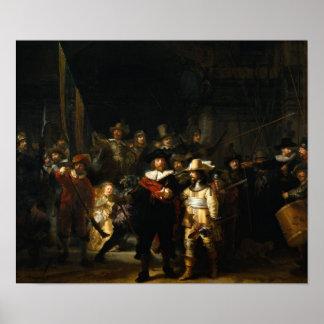 El guardia nocturna impresiones