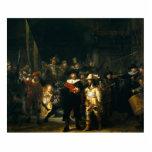 El guardia nocturna - Rembrandt Esculturas Fotograficas