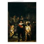 El guardia nocturna - Rembrandt Felicitación
