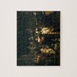 El guardia nocturna - Rembrandt Puzzles