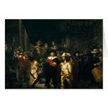 El guardia nocturna - Rembrandt Tarjeta