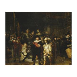 El guardia nocturna, Rembrandt Van Rijn Lienzo Envuelto Para Galerias