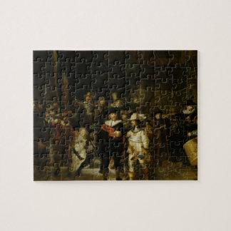 El guardia nocturna, Rembrandt Van Rijn Puzzle