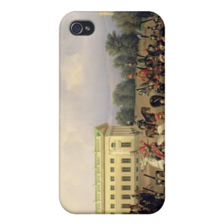 El guardia ruso en Tsarskoye Selo iPhone 4 Carcasas