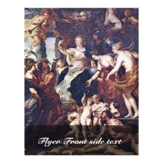 El Gückseligkeit la regencia de Marie De Medici Flyer Personalizado