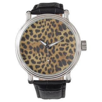 El guepardo de PixDezines mancha el naturelle aux. Reloj De Mano