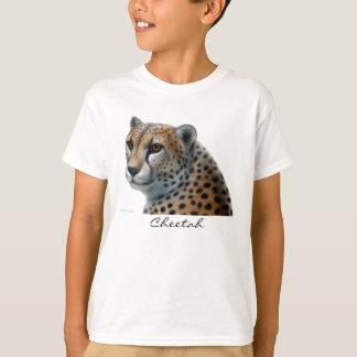 El guepardo embroma la camiseta playera