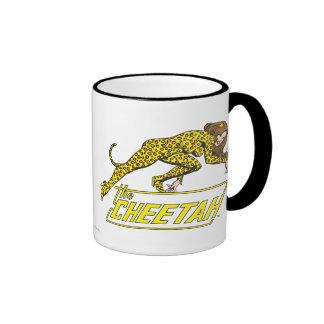 El guepardo taza de dos colores