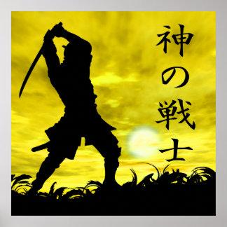 El guerrero de dios póster