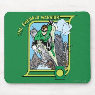 El guerrero esmeralda alfombrilla de ratón
