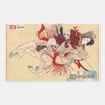 El guerrero femenino Hangaku Rectangular Altavoces