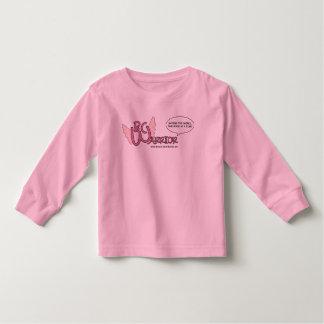 El guerrero T'shirt del CÁNCER de PECHO para los Playera De Bebé