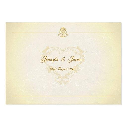 El Guestbook del boda carda el papel de pergamino  Plantillas De Tarjetas Personales