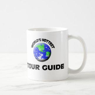 El guía turístico más caliente del mundo taza básica blanca