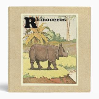 """El guión del rinoceronte carpeta 1 1/2"""""""