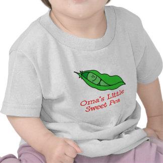 El guisante de olor de Oma Camisetas
