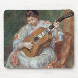 El guitarrista, 1897 alfombrilla de ratón