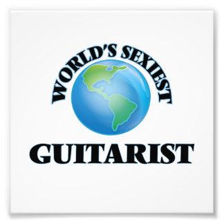 El guitarrista más atractivo del mundo impresiones fotograficas