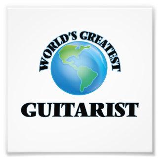 El guitarrista más grande del mundo impresiones fotográficas