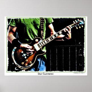 El guitarrista póster