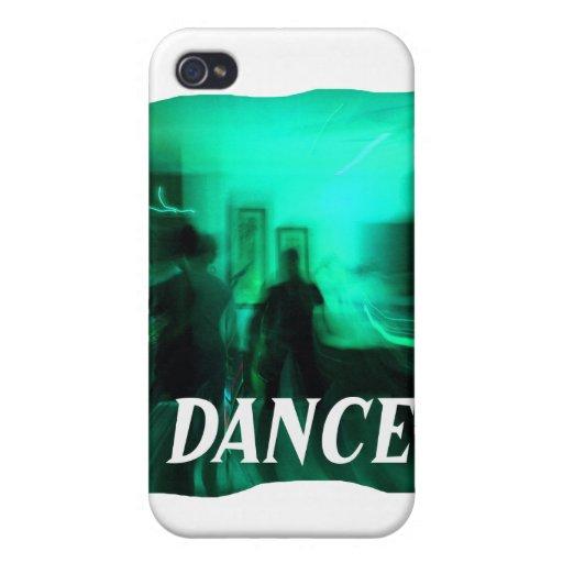 El guitarrista y los bailarines enfocaron DANZA de iPhone 4/4S Carcasa