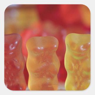 El Gummies Pegatina Cuadrada