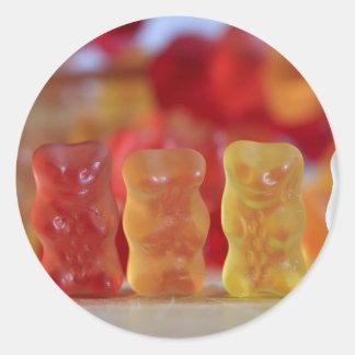 El Gummies Pegatina Redonda