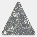 El gusano A1 de la bobina Calcomanía De Triangulo Personalizadas