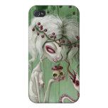 El gusto dulce de la muerte iPhone 4 protectores